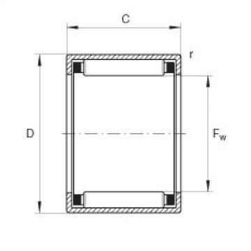 FAG Buchas de agulhas - HK0808