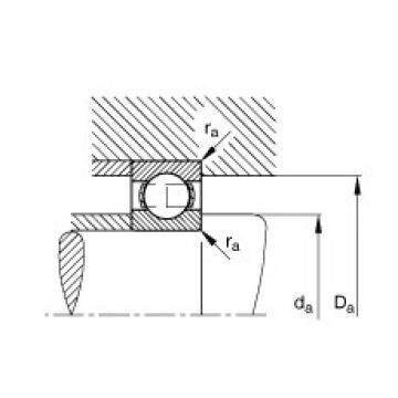 FAG Rolamento de esferas - S696
