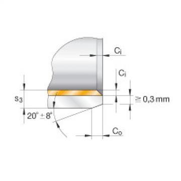 FAG Buchas flangeadas - EGF08075-E40