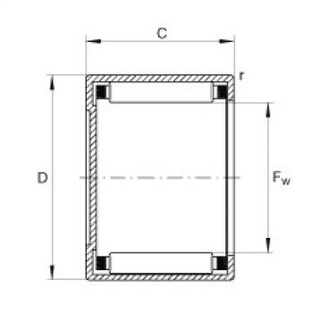 FAG Buchas de agulhas - BCH57