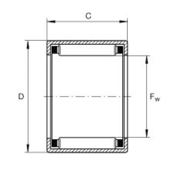FAG Buchas de agulhas - SCE34-TN
