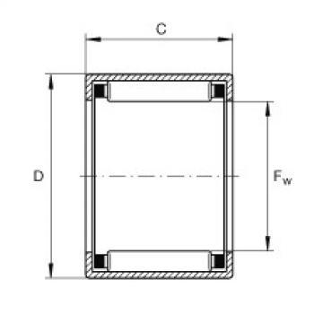 FAG Buchas de agulhas - SCE57
