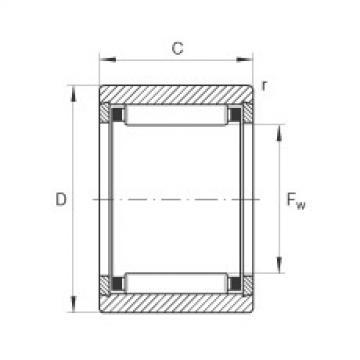 FAG Rolamento de agulhas - NK6/10-TV-XL