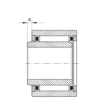 FAG Rolamento de agulhas - NKI7/16-TV-XL