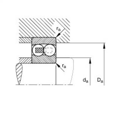FAG Rolamento autocompensador de esferas - 135-TVH