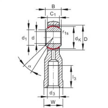 FAG Cabeças articuladas - GIKSR6-PS