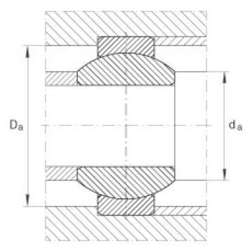 FAG Rótulas radiais - GE8-FO