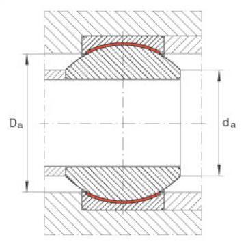 FAG Rótulas radiais - GE8-PW