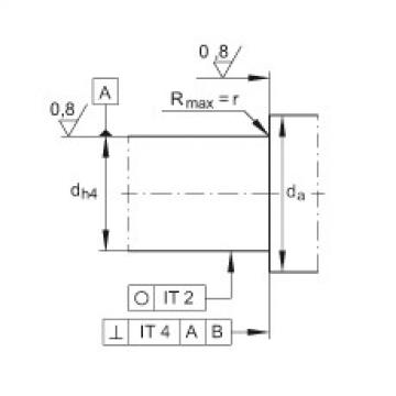 FAG Unidades de rolamento de esfera de contato angular - ZKLFA0630-2Z