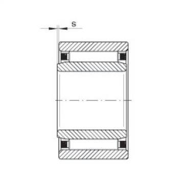 FAG Rolamento de agulhas - NAO6X17X10-TV-IS1-XL