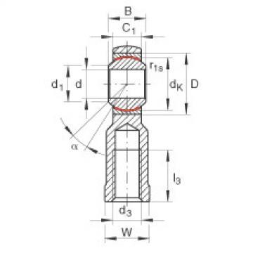 FAG Cabeças articuladas - GIKR6-PW