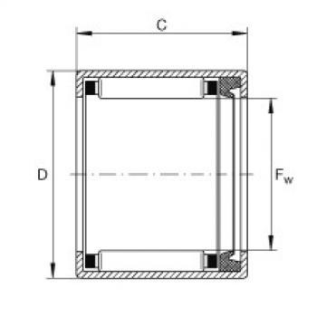 FAG Buchas de agulhas - SCE56-P