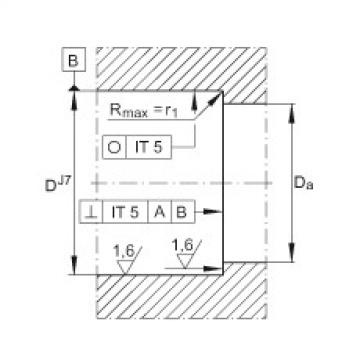 FAG Rolamento axial de esferas de contato angular - ZKLN0624-2RS-PE