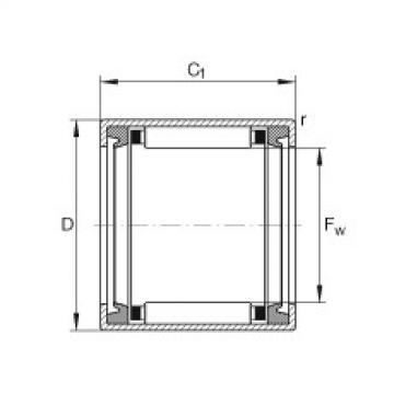 FAG Buchas de agulhas - HK0812-2RS