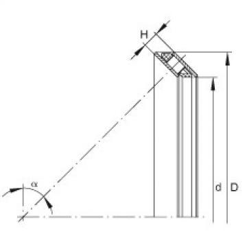 FAG Rolamento de rolos de contato angular axial - AXS0816