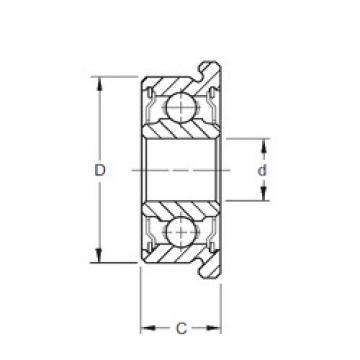 Rolamentos F697-2RS ZEN