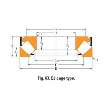 Rolamento de rolos esféricos de impulso 29396em