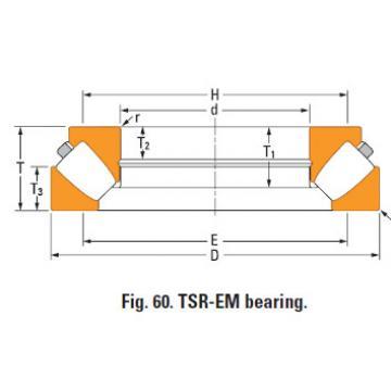 Rolamento de rolos esféricos de impulso 29496em